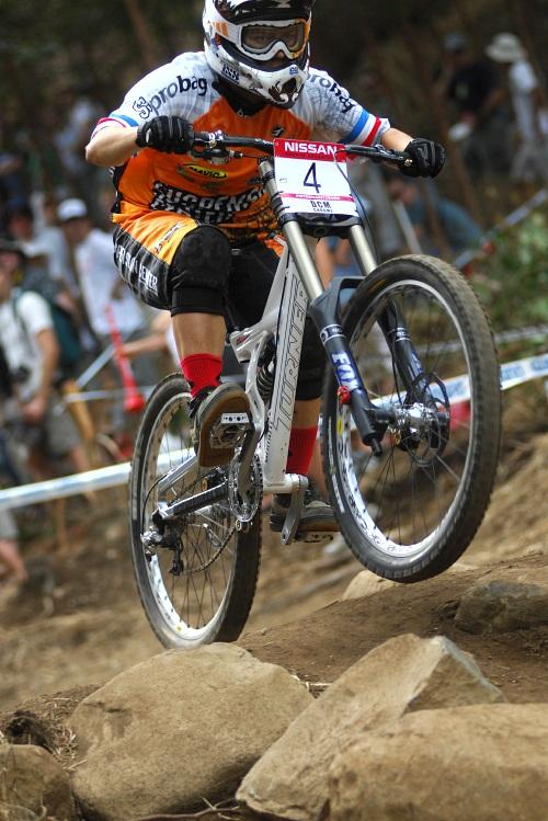 SP DH #1 2009 - Pietermaritzburg /RSA/: Emmeline Ragot