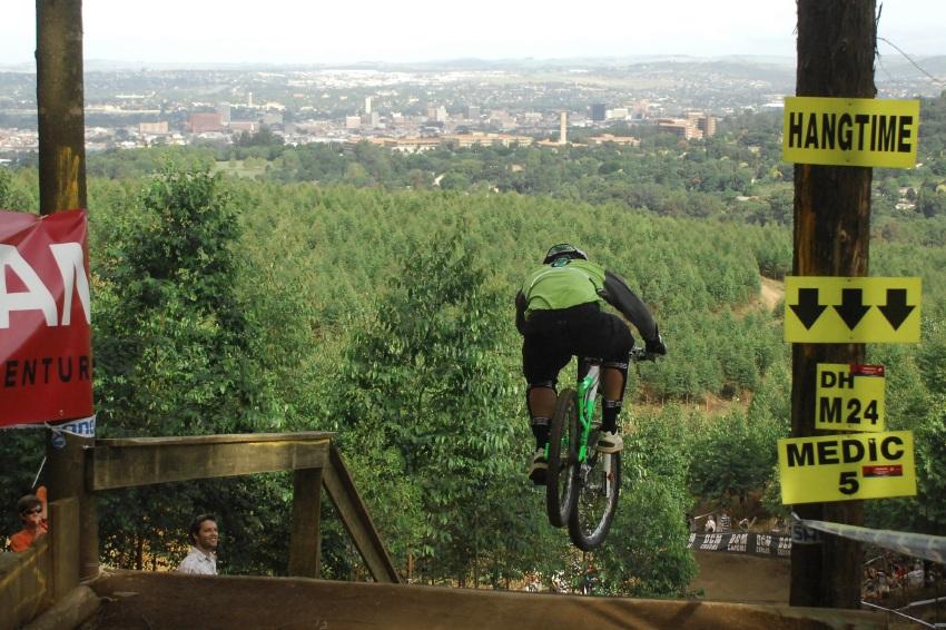SP DH #1 2009 - Pietermaritzburg /RSA/: Cedric Gracia