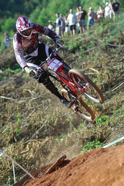 SP DH #1 2009 - Pietermaritzburg /RSA/: famózní finálová jízda Grega Minnaara