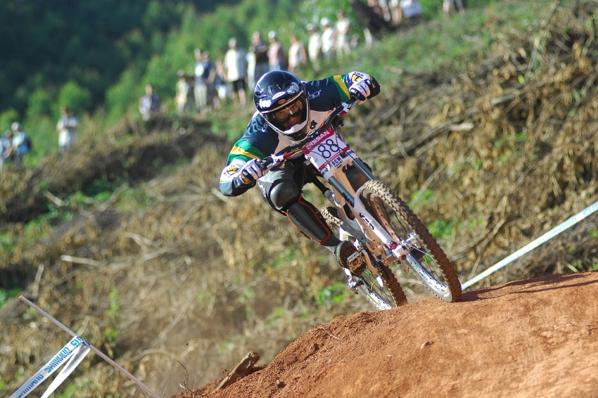 SP DH #1 2009 - Pietermaritzburg /RSA/: druhý Michael Hannah