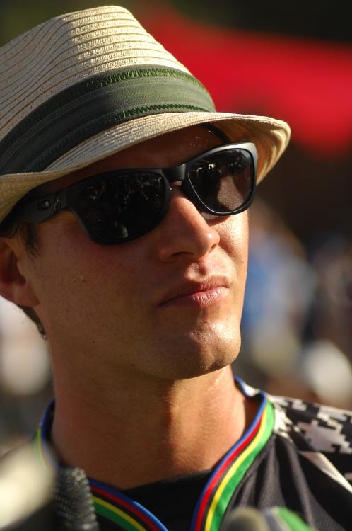 SP DH #1 2009 - Pietermaritzburg /RSA/: Greg Minnaar v cíli