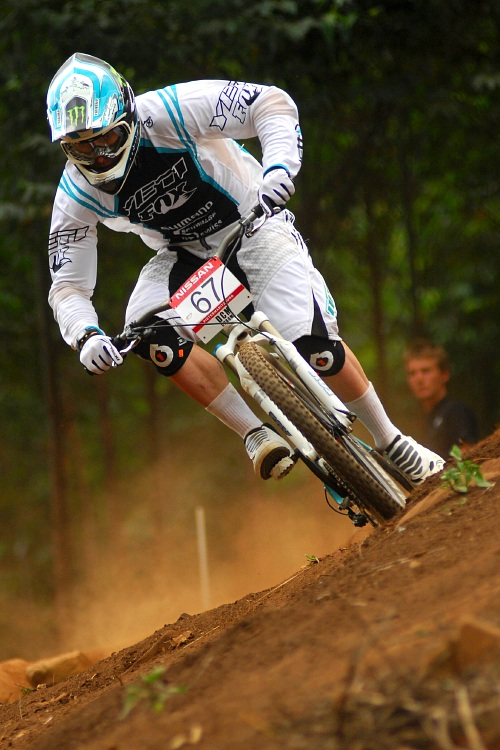 SP 4X #1 2009 - Pietermaritzburg /RSA/: Jared Graves v kvalifikaci