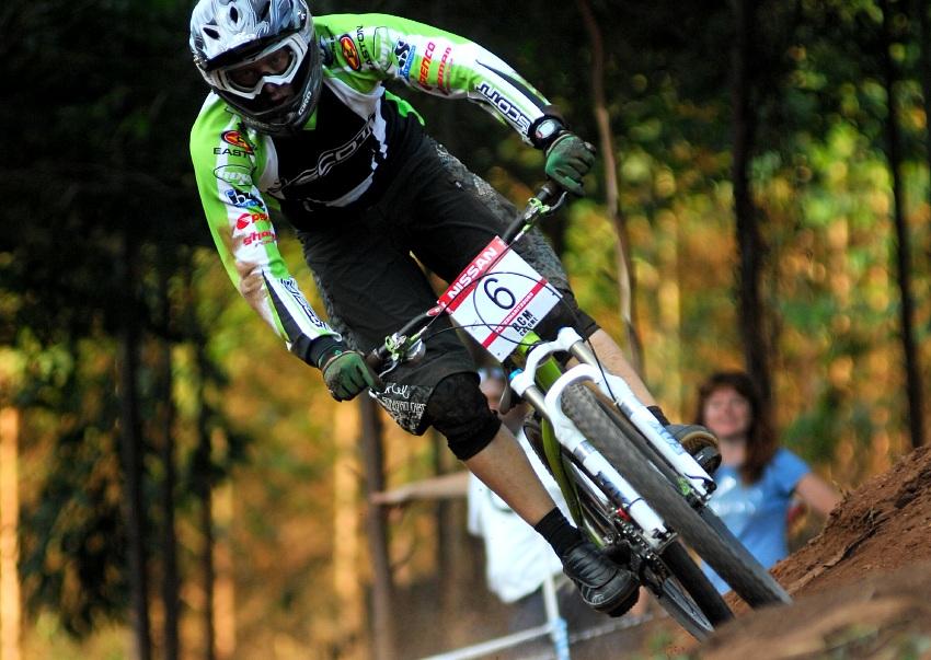 SP 4X #1 2009 - Pietermaritzburg /RSA/: Kamil Tatarkovi� v nov�ch barv�ch Scott