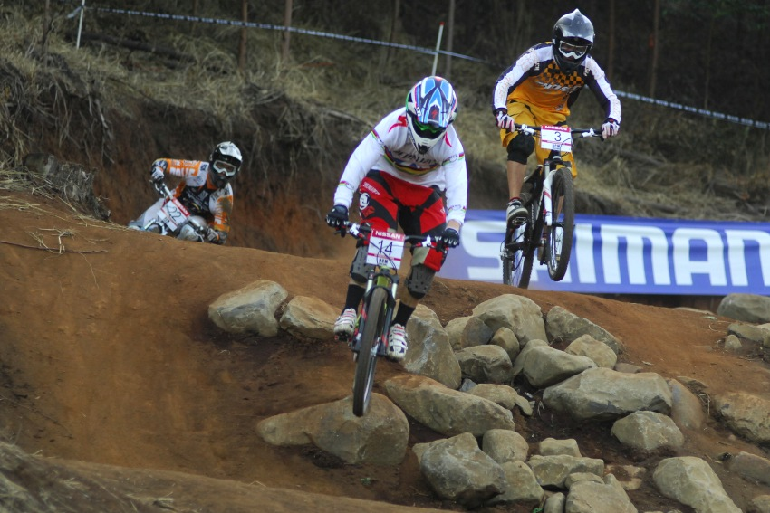 SP 4X #1 2009 - Pietermaritzburg /RSA/: Alvarez a Fischbach vy�azuj� Tejchmana