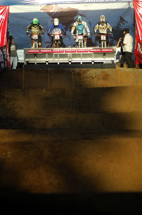 SP 4X #1 2009 - Pietermaritzburg /RSA/: mužské semifinále s Gravesem