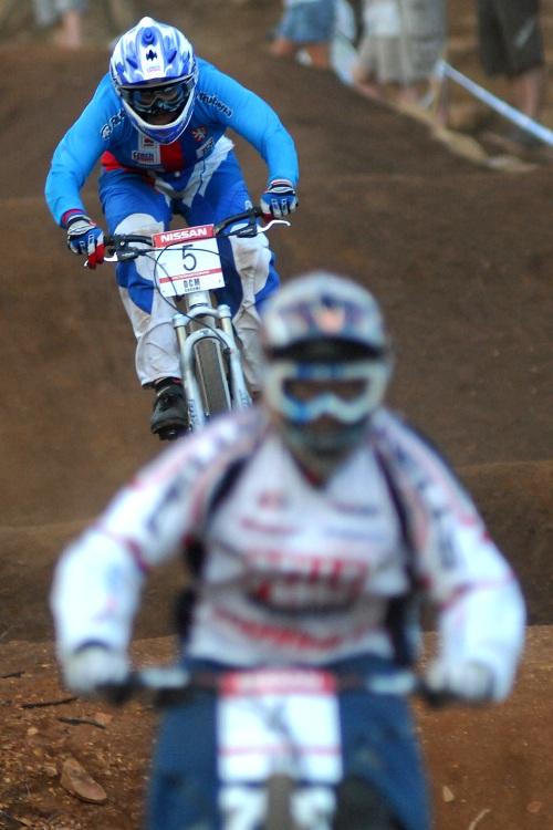 SP 4X #1 2009 - Pietermaritzburg /RSA/: Jana Hor�kov� �tvrt� za Romanou Labounkovou