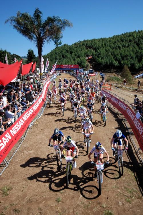 SP XC #1 2009 - Pietermaritzburg /RSA/: start žen