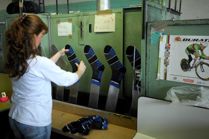 Moose: formování ponožek