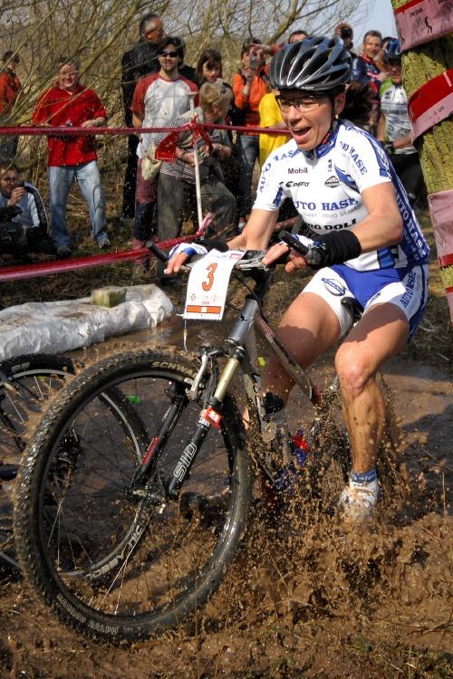 MTB Přes dva kopce 2009: Petra Kottová