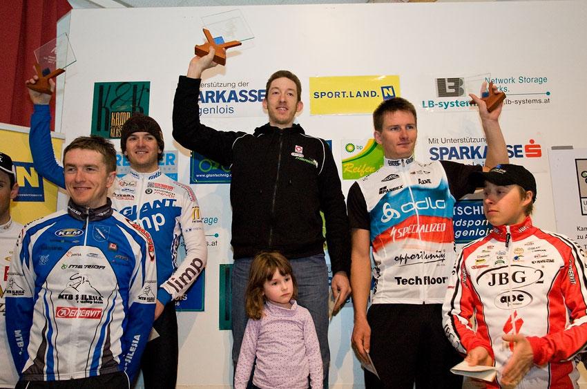 Kamptal-Klassik-Trophy, Langenlois /AUT/ - 1. Soukup, 2. Škarnitzl, 3. Boudný, 29.3. 2009, foto: Miloš Lubas
