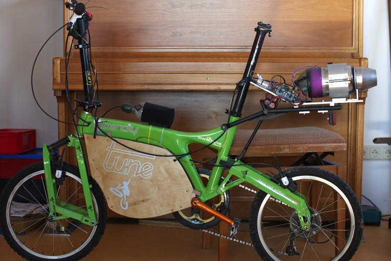 Tune factory - Uliho raketový bike