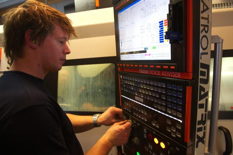 Tune factory - pilot CNC stroje