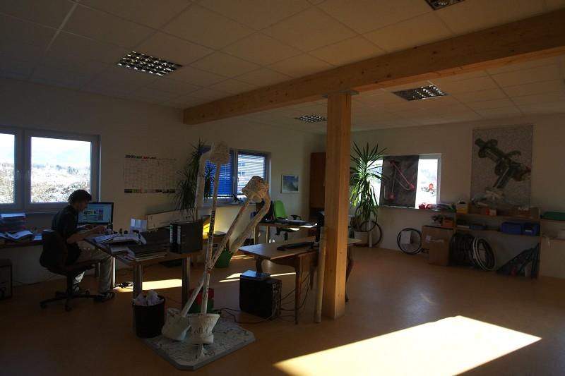 Tune factory - jedna z kanceláří
