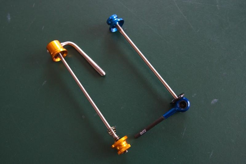 Tune factory - nové rychloupínáky