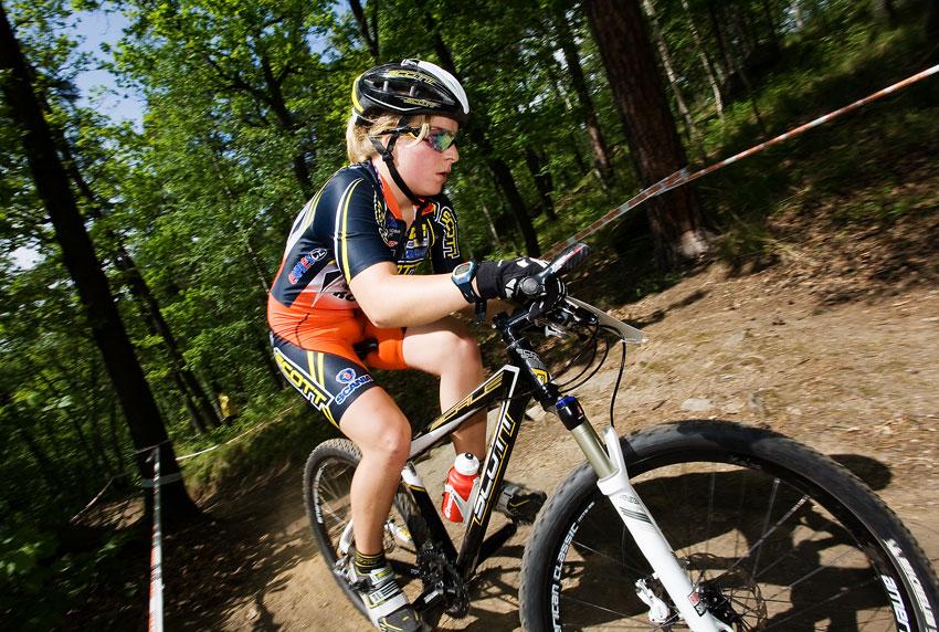 Maja Wloszczowska MTB Race - Jelenia Góra 9.5. 2009 - Karolína Kalašová