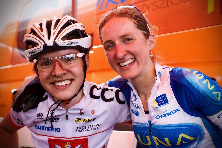 Maja Wloszczowska MTB Race - Jelenia G�ra 9.5. 2009 - exkluzivn� smiles pro MTBS