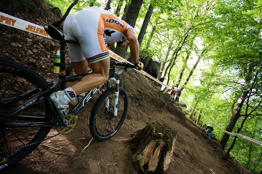 Maja Wloszczowska MTB Race - Jelenia Góra 9.5. 2009 - Martinez už nechal díru...