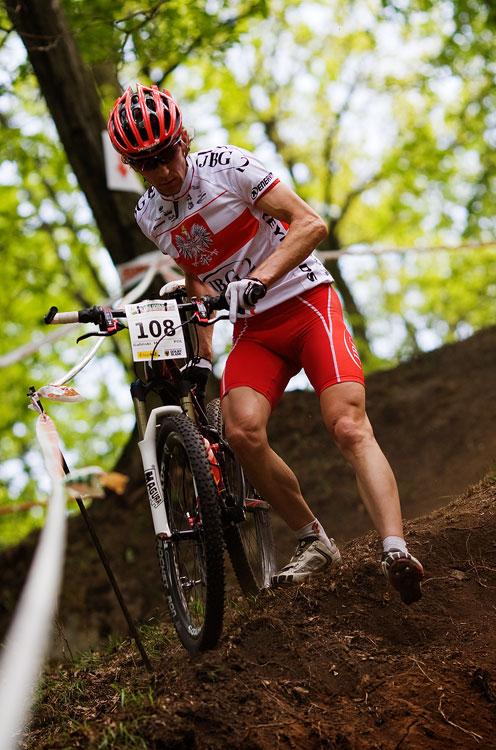 Maja Wloszczowska MTB Race - Jelenia Góra 9.5. 2009 - Marek Galinski - a do depa daleko...
