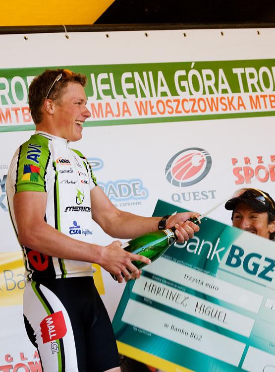 Maja Wloszczowska MTB Race - Jelenia Góra 9.5. 2009 - Migueli neschovávej se!