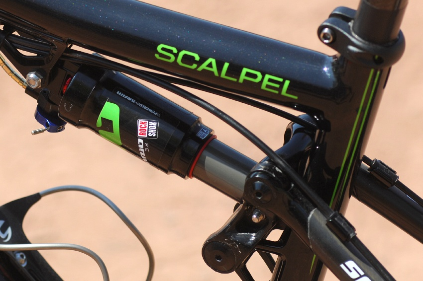 Cannondale Scalpel Roela Paulissena 2009 - Rock Shox Ario 3.2