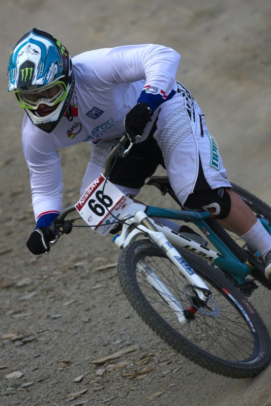 Nissan UCI MTB World Cup 4X #2 - Houfalize /BEL/ 1.-2. 5. 2009 - Jared Graves