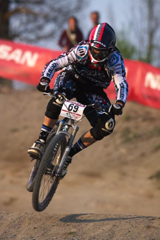 Nissan UCI MTB World Cup 4X #2 - Houfalize /BEL/ 1.-2. 5. 2009 - Dan Atherton