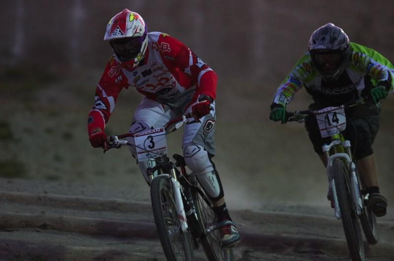 Nissan UCI MTB World Cup 4X #2 - Houfalize /BEL/ 1.-2. 5. 2009 - Joost Wichman a Kamil Tatarkovič