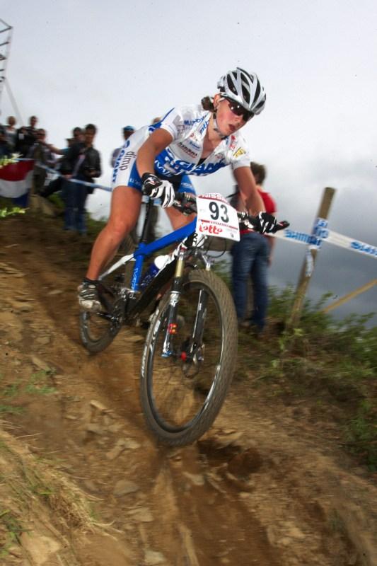 Nissan UCI MTB World Cup XC #3 - Houffalize 2.-3.5. 2009 - Jitka Škarnitzlová