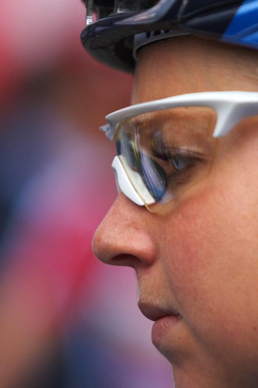 Nissan UCI MTB World Cup XC #3 - Houffalize 2.-3.5. 2009 - předstartovní soustředění Lene Byberg
