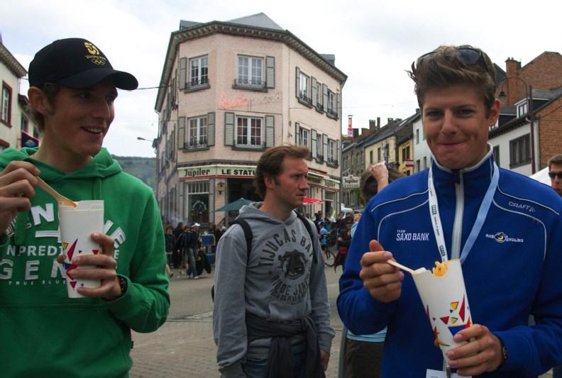 Nissan UCI MTB World Cup XC #3 - Houffalize 2.-3.5. 2009 - Andy Schleck a Jakob Fuglsang
