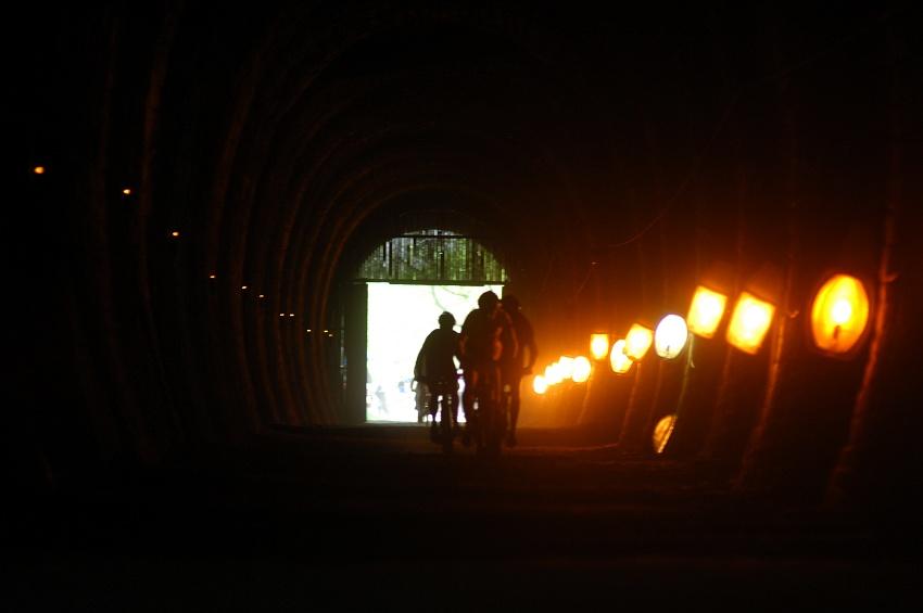Author �ela Marathon 2009: �elezni�n� tunel