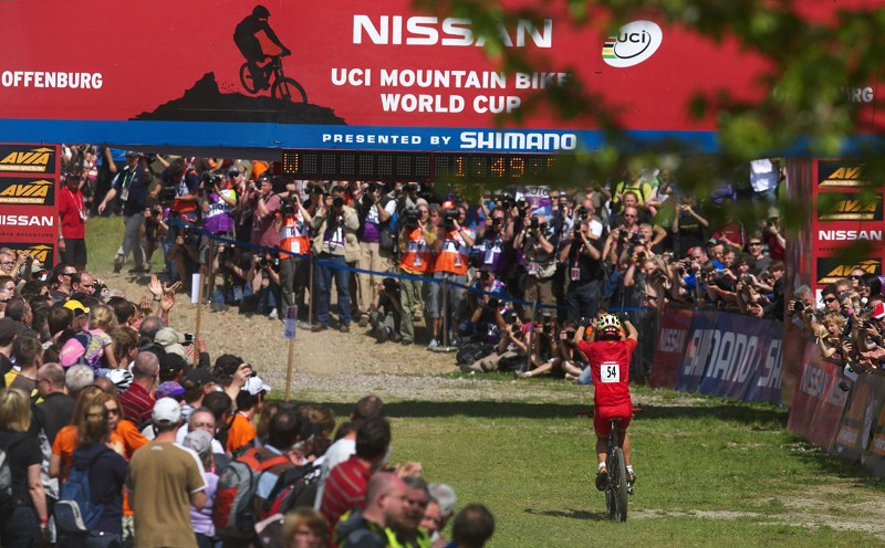 Nissan UCI World Cup #2 Offenburg /GER/ 25.4.2009, Ren Chen Gyuan vítězí