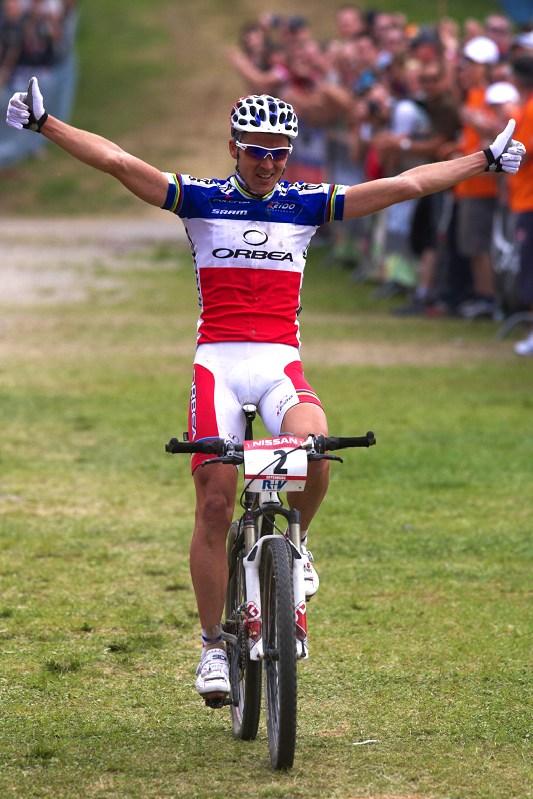 Nissan UCI World Cup #2 Offenburg /GER/ 25.4.2009, Julien Absalon vítězí