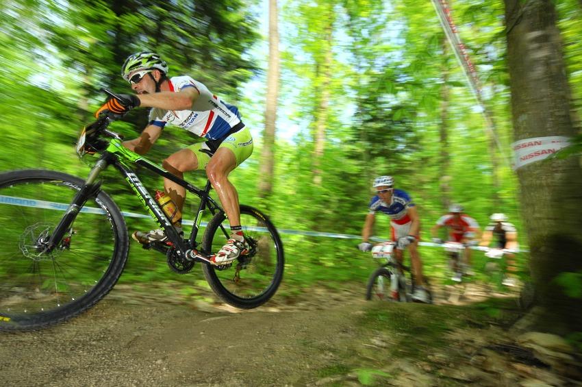 Nissan UCI World Cup #2 Offenburg /GER/ 26.4.2009 - Hermida v �ele v prvn�m kole