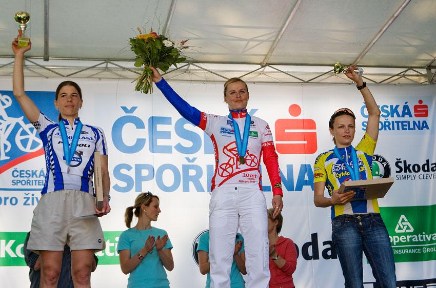 Kolo pro život - Kutná Hora 25.4. 2009, foto: Miloš Lubas, 1. Radová, 2. Kottová, 3. Bublová