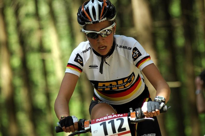 Nissan UCI World Cup #2 Offenburg /GER/ 25.4.2009: Mona Eiberweiser