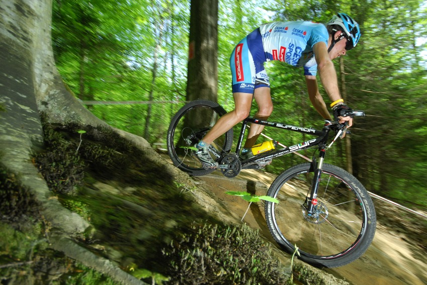 Nissan UCI World Cup #2 Offenburg /GER/ 25.4.2009: Dan Dvořáček