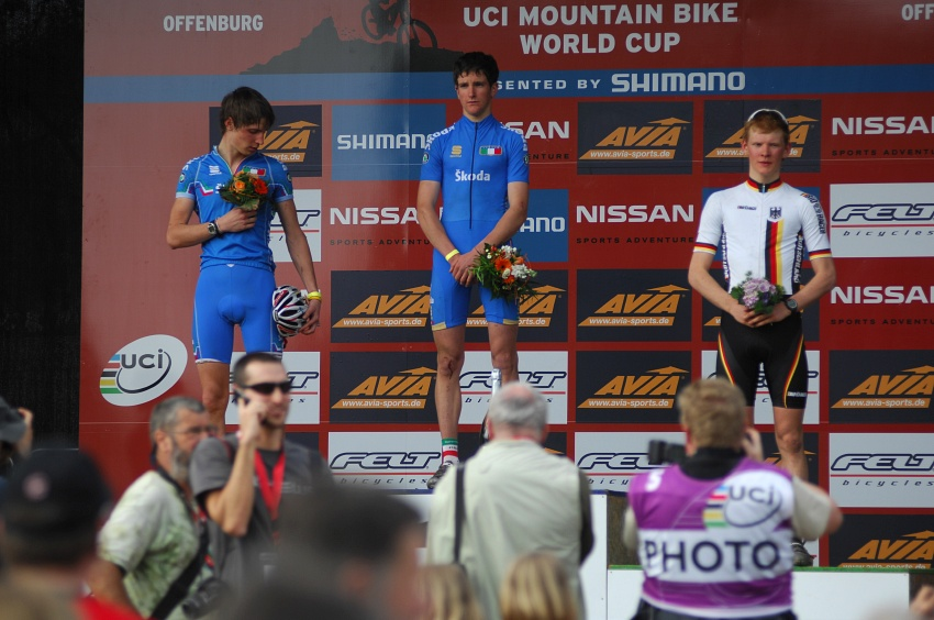 Nissan UCI World Cup #2 Offenburg /GER/ 25.4.2009: junoři