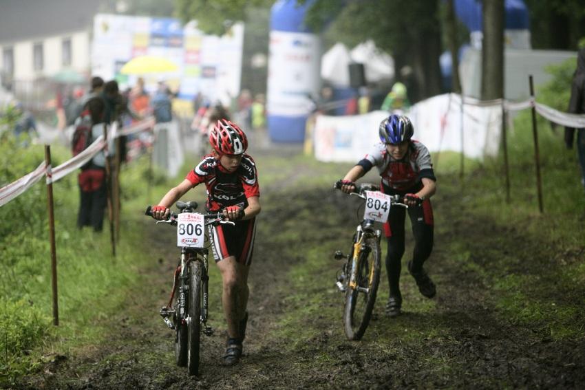 ČP MTB XC #2 Česká Kamenice 2009: žáci