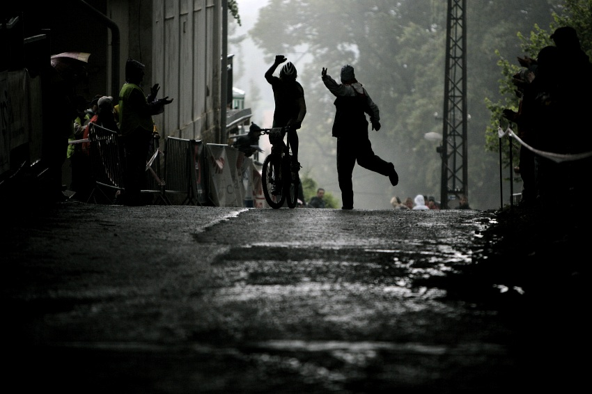 ČP MTB XC #2 Česká Kamenice 2009: Nesvadba a Hollósi slaví