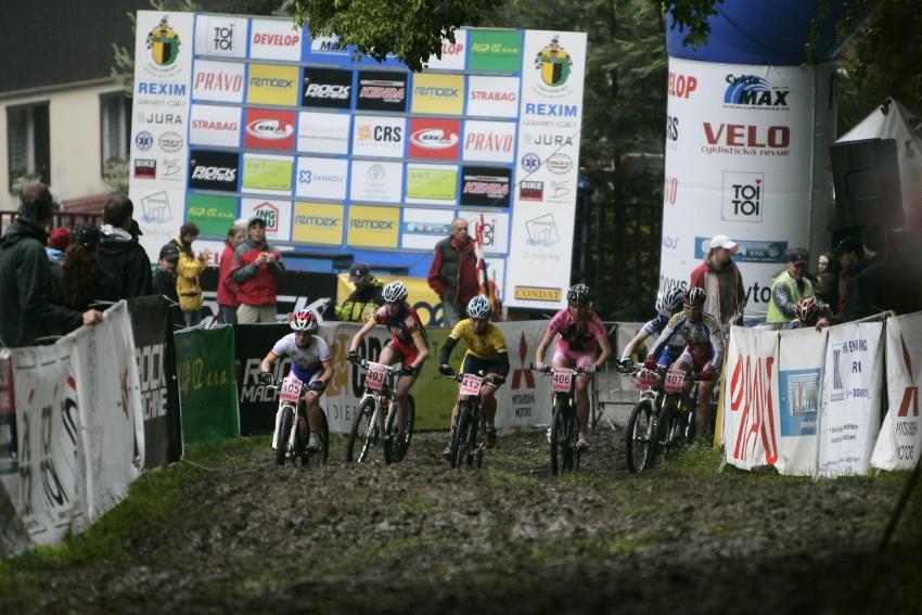 ČP MTB XC #2 Česká Kamenice 2009: start žen