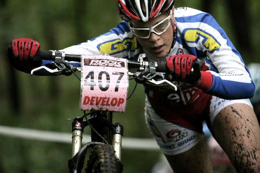 �P MTB XC #2 �esk� Kamenice 2009: Lucie Vesel�