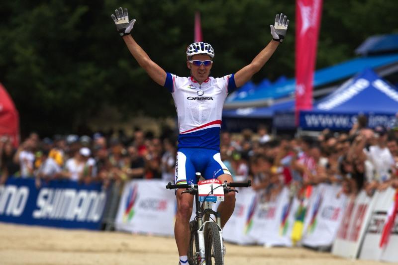 Nissan UCI MTB World Cup XC #4 - Madrid 24.5. 2009 - Julien Absalon a jeho devatenácté vítězství ve světovém poháru