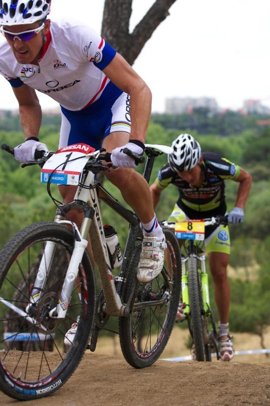 Nissan UCI MTB World Cup XC #4 - Madrid 24.5. 2009 - Absalon a Näf