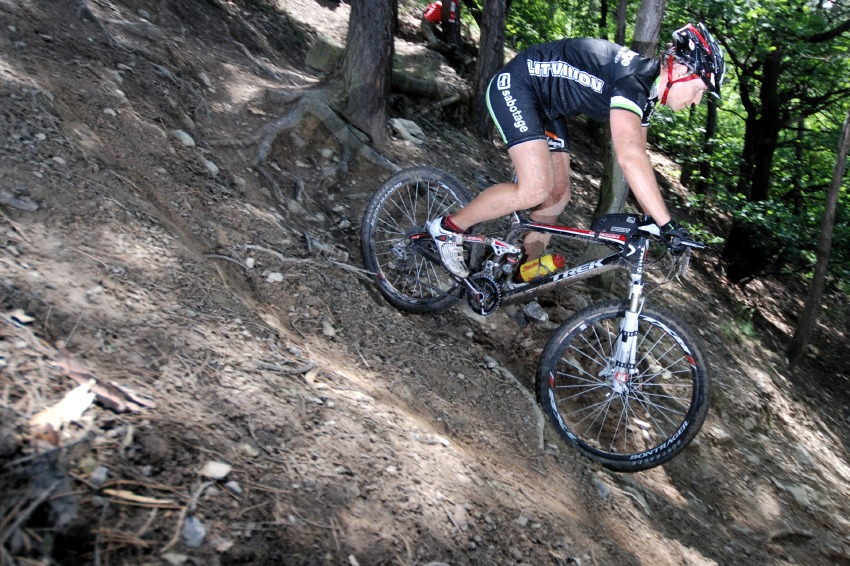 Specialized Extr�m Bike Most 2009: David Brabec