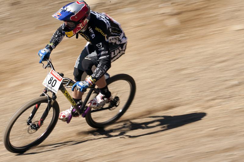 Nissan UCI World Cup 4X & DH Andora - Vallnord 2009: Michal Prokop /foto: Gary Perkin/