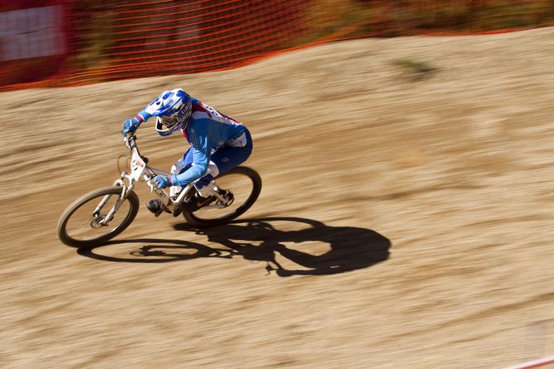 Nissan UCI World Cup 4X & DH Andora - Vallnord 2009: Jana Hor�kov� /foto: Gary Perkin/