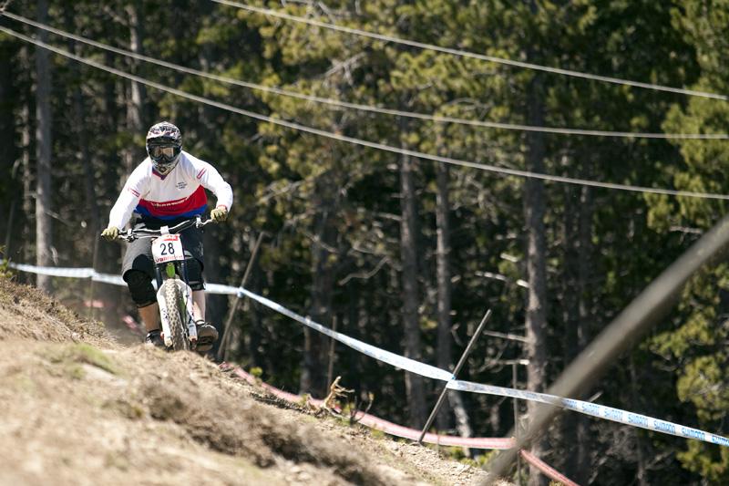 Nissan UCI World Cup 4X & DH Andora - Vallnord 2009: Katarina Tothová /foto: Gary Perkin/