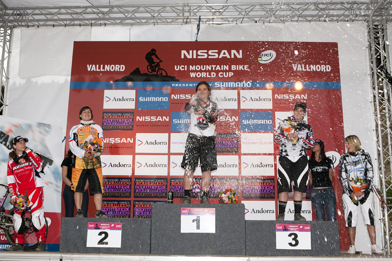 Nissan UCI World Cup 4X & DH Andora - Vallnord 2009: Jonnier vítězkou DH /foto: Gary Perkin/