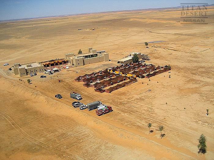 Nissan Desert Race 2009 tábor